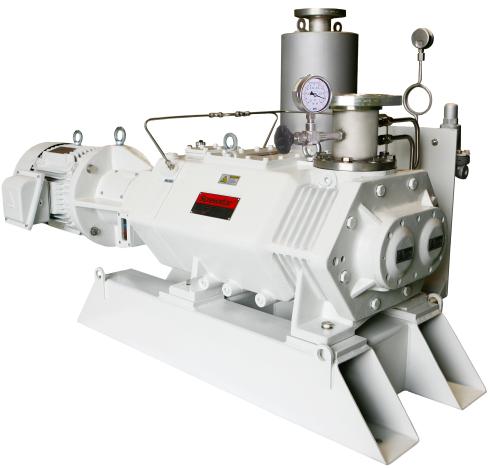 Винтовой вакуумный насос SS800 скорость откачки 660 м3/час